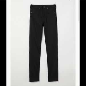 H&M High-waisted jeans in stretch denim